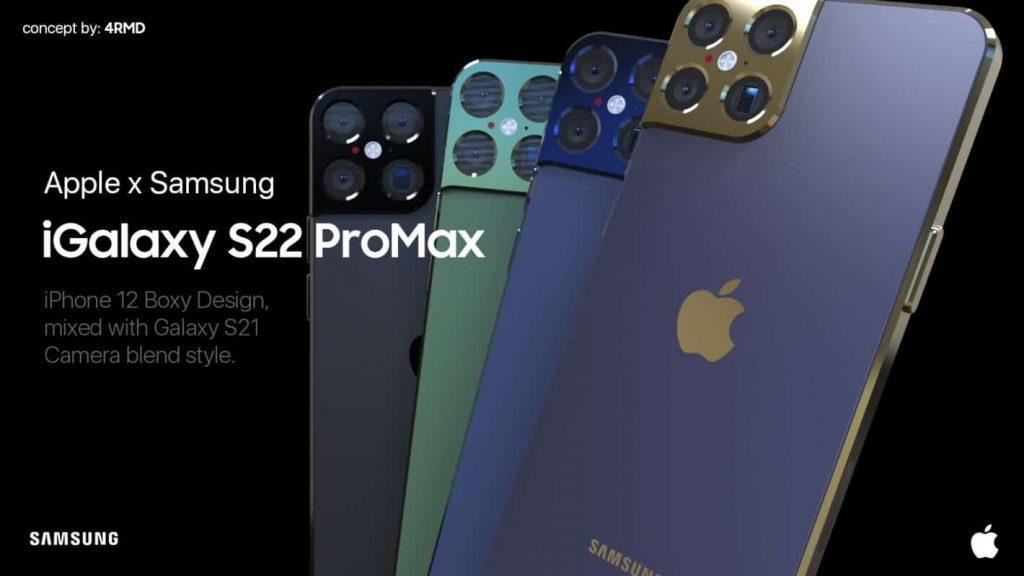 bản Concept iGalaxy S22 ProMax