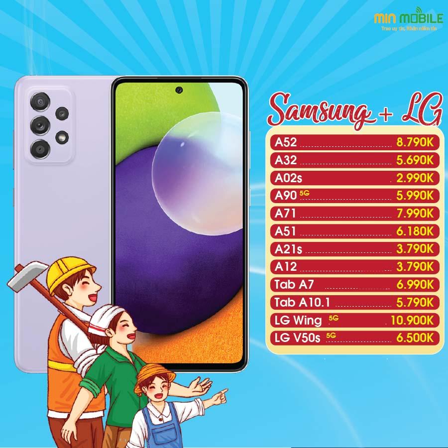 Samsung LG giảm sốc tại MinMobile Hải Phòng