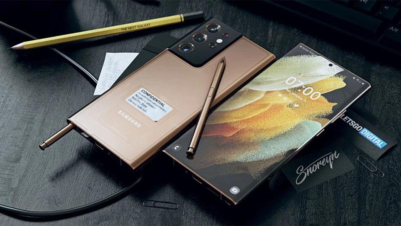 Galaxy Note 21 theo en.letsgodigital.org.