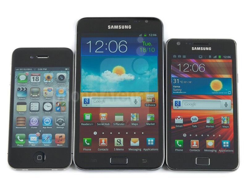 Galaxy Note thế hệ đầu