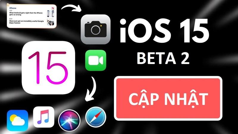 ios 15 beta 2