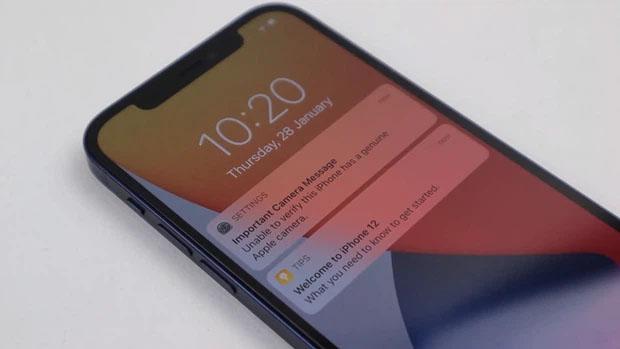 xác minh iphone thay thế camera