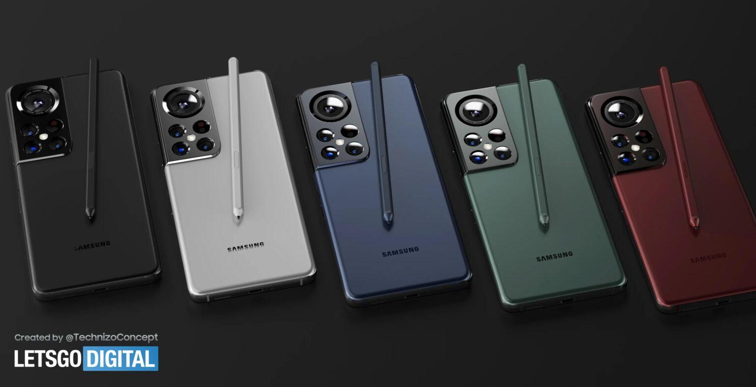 Lộ diện hình ảnh của Galaxy S22 Ultra