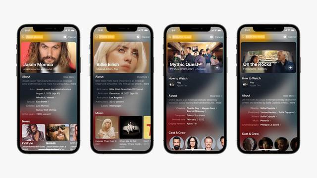 bản cập nhật iOS 15 mới nhất
