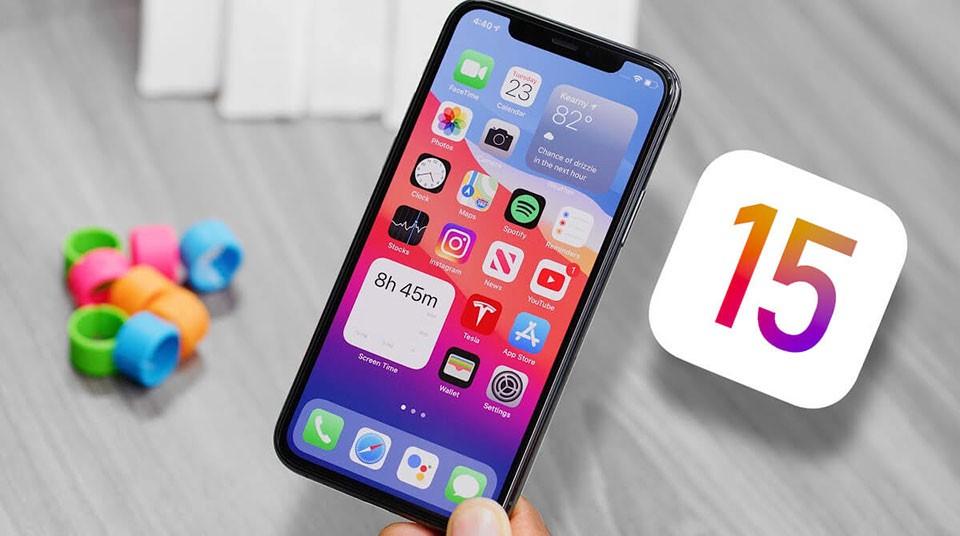 phiên bản iOS 15
